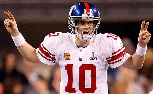 Eli Manning –Benched